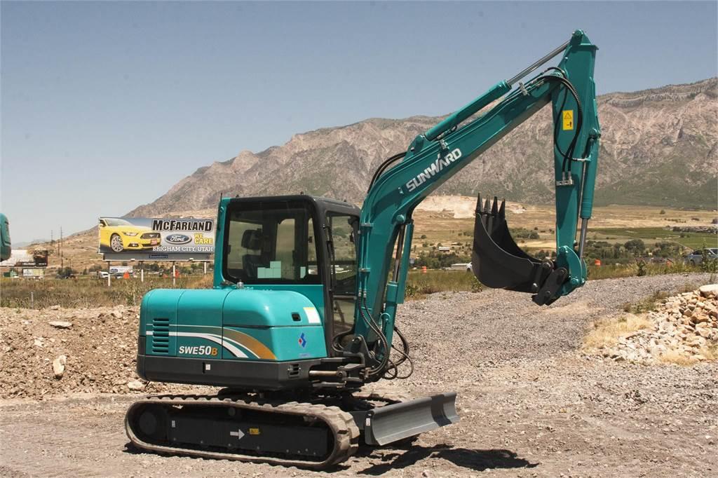 Sunward SWE50B, Mini Excavators <7t (Mini Diggers), Construction Equipment
