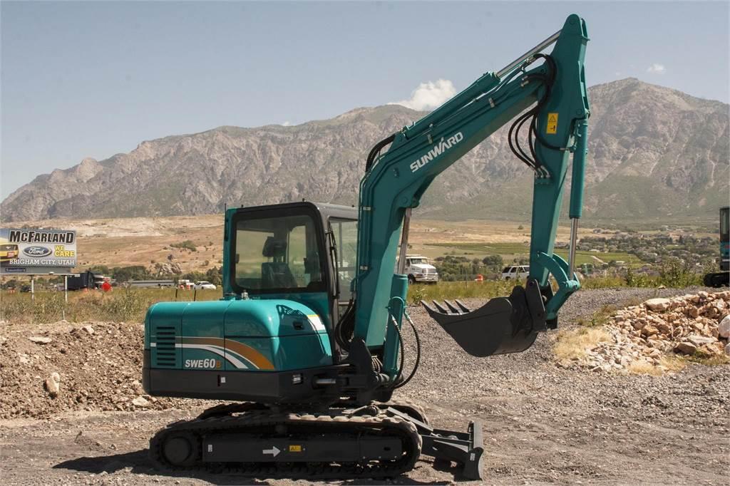 Sunward SWE60B, Crawler Excavators, Construction Equipment
