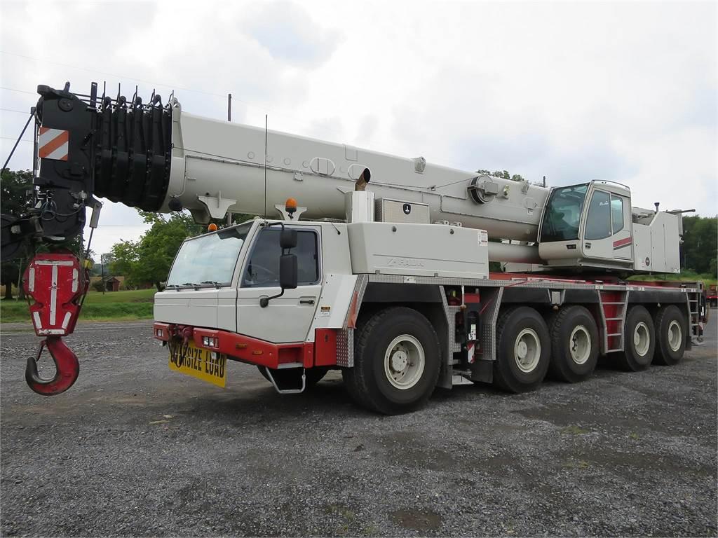 Tadano ATF-160G5, All Terrain Cranes and Hydraulic Truck Cranes, Construction Equipment