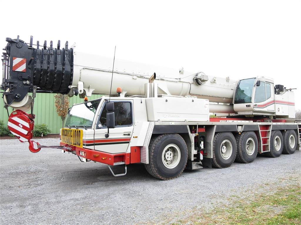 Tadano ATF220G-5, All Terrain Cranes and Hydraulic Truck Cranes, Construction Equipment