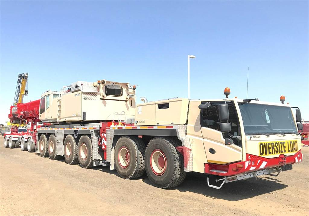 Tadano Faun ATF400G-6, All Terrain Cranes and Hydraulic Truck Cranes, Construction Equipment