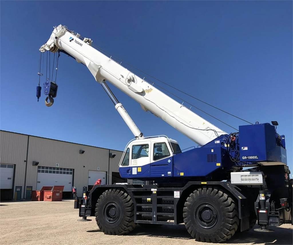 Tadano GR 1000XL, Rough Terrain Cranes, Construction Equipment