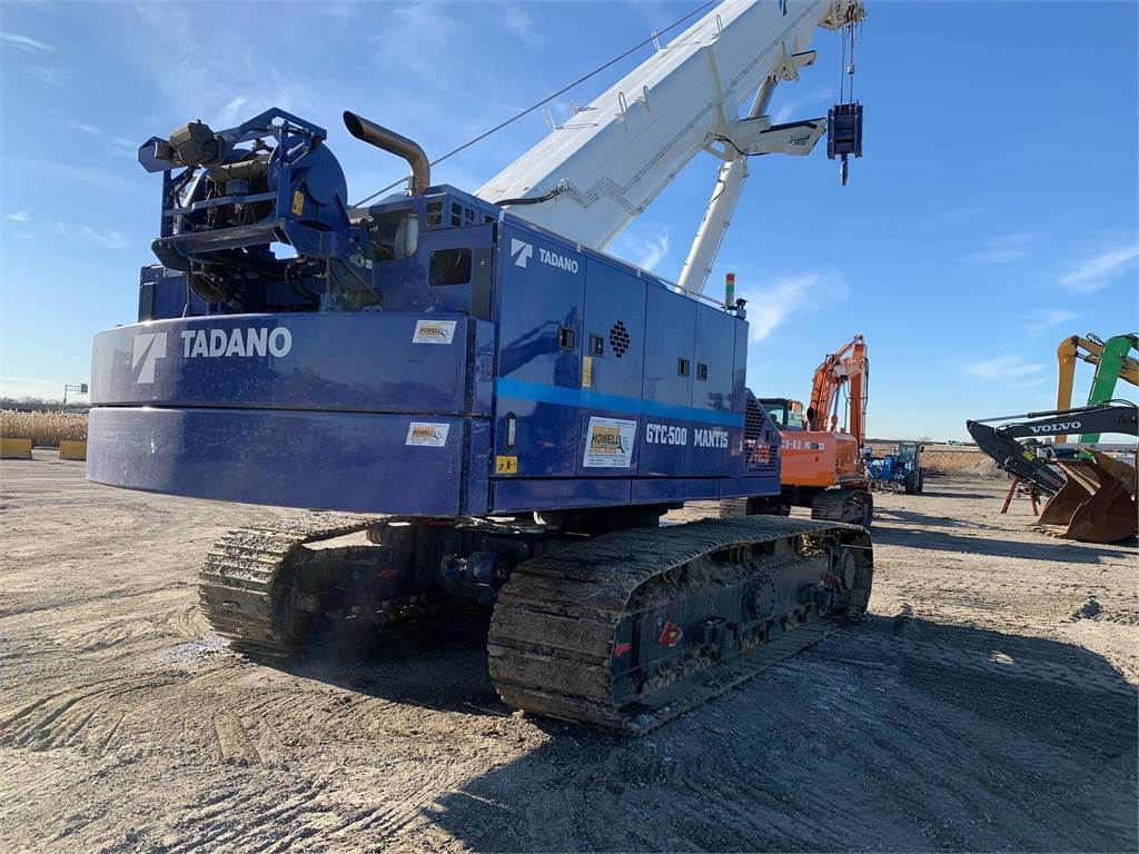 Tadano MANTIS GTC 500, Booms and dippers, Construction Equipment