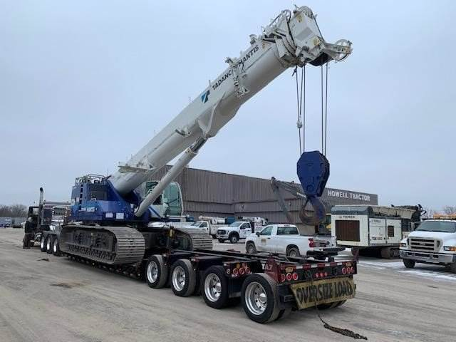 Tadano MANTIS GTC 800, Booms and dippers, Construction Equipment