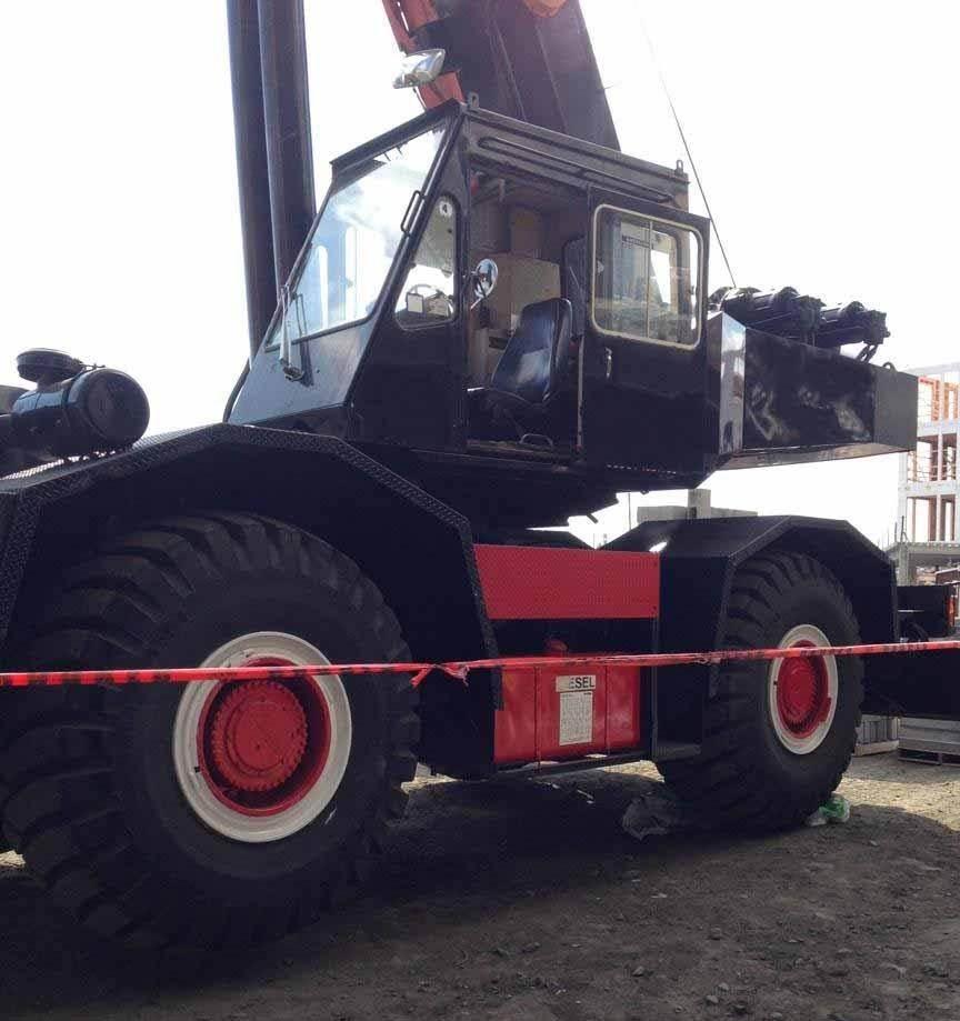 Tadano TR400E, Rough Terrain Cranes, Construction Equipment