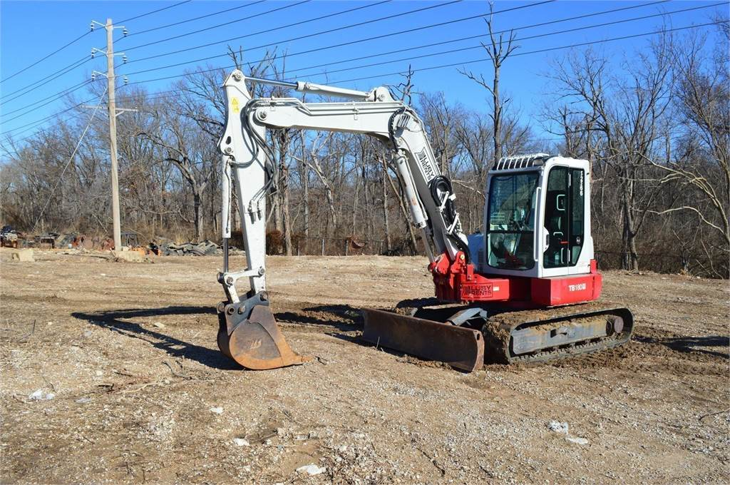 Takeuchi TB180FR, Crawler Excavators, Construction Equipment