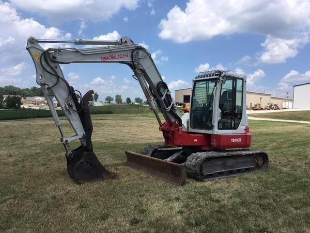 Takeuchi TB180FR, Crawler Excavators, Construction Equipment