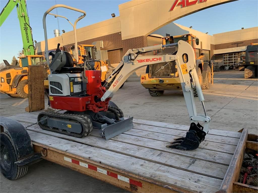 Takeuchi TB210R, Compact Excavators, Construction Equipment