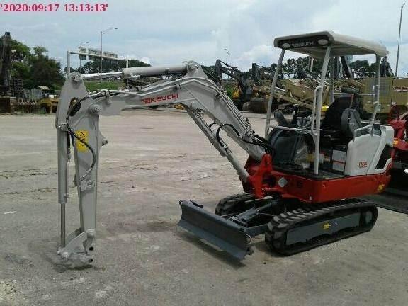 Takeuchi TB225, Compact Excavators, Construction Equipment