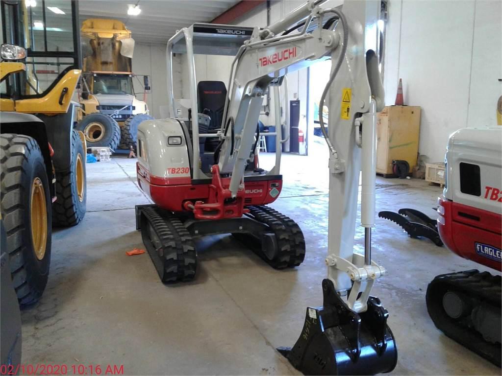 Takeuchi TB230, Compact Excavators, Construction Equipment