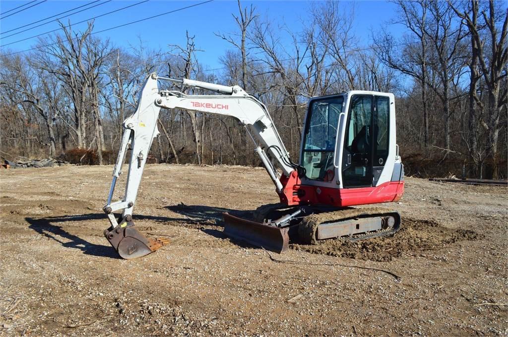 Takeuchi TB235, Mini Excavators <7t (Mini Diggers), Construction Equipment