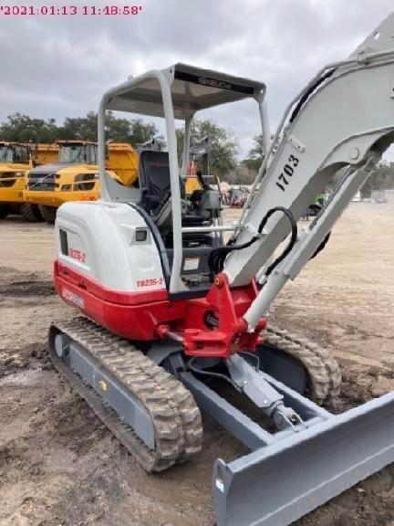 Takeuchi TB235-2, Compact Excavators, Construction Equipment