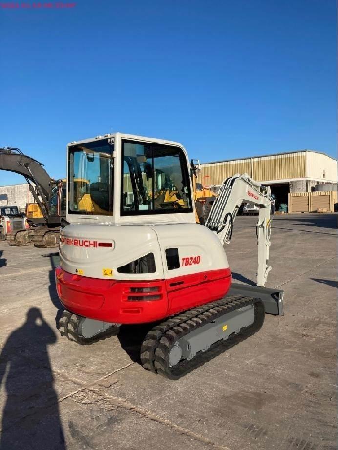Takeuchi TB240, Compact Excavators, Construction Equipment