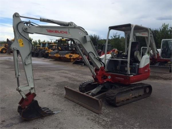 Takeuchi TB240, Mini Excavators <7t (Mini Diggers), Construction Equipment
