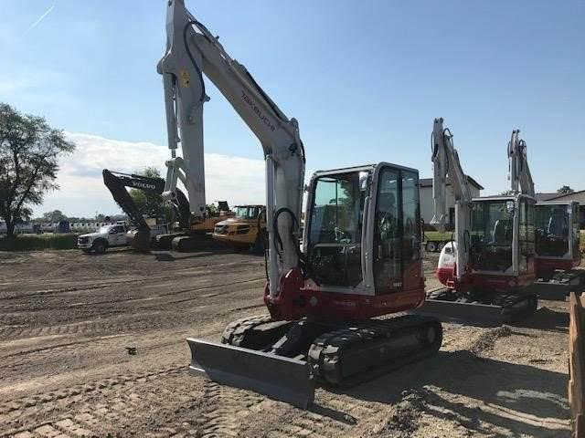 Takeuchi TB250, Compact Excavators, Construction Equipment