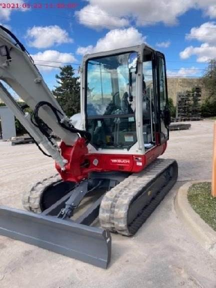 Takeuchi TB250-2, Compact Excavators, Construction Equipment