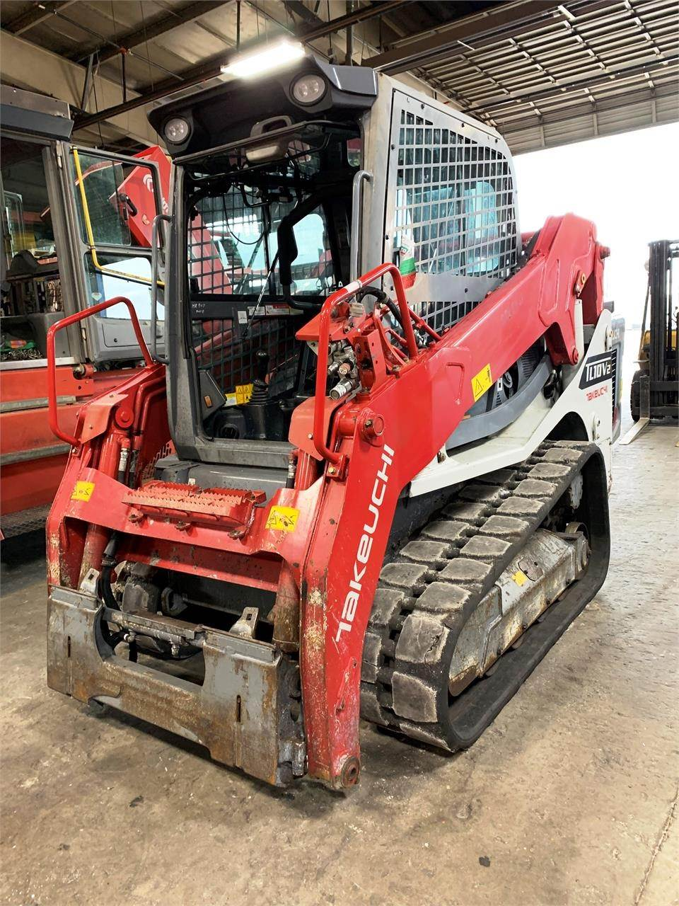 Takeuchi TL10V2, Skid Steer Loaders, Construction Equipment