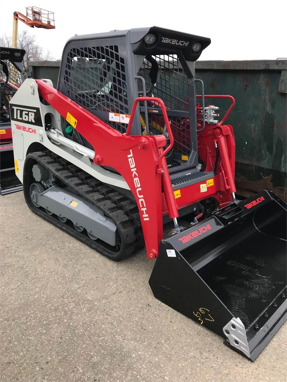 Takeuchi TL6R, Skid Steer Loaders, Construction Equipment