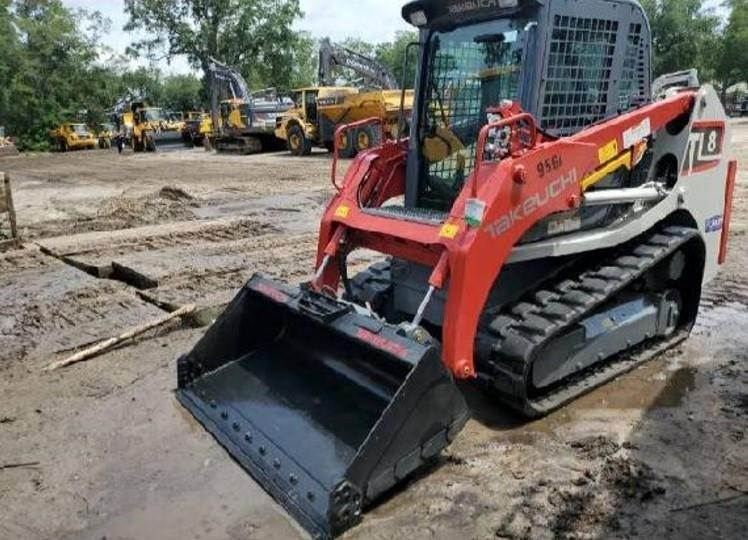 Takeuchi TL8, Skid Steer Loaders, Construction Equipment