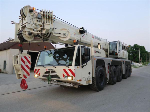 Terex AC140, All Terrain Cranes and Hydraulic Truck Cranes, Construction Equipment
