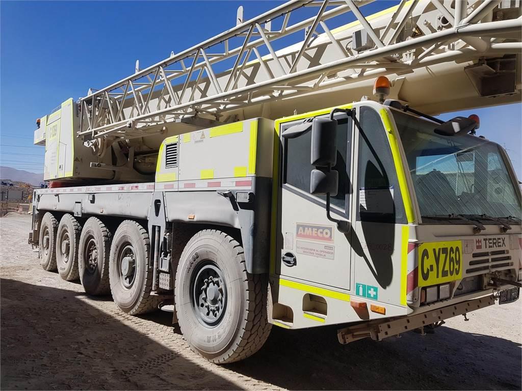 Terex AC140C, Mobile and all terrain cranes, Construction Equipment