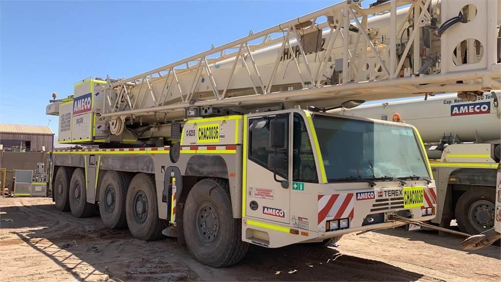 Terex AC160-2, Mobile and all terrain cranes, Construction Equipment