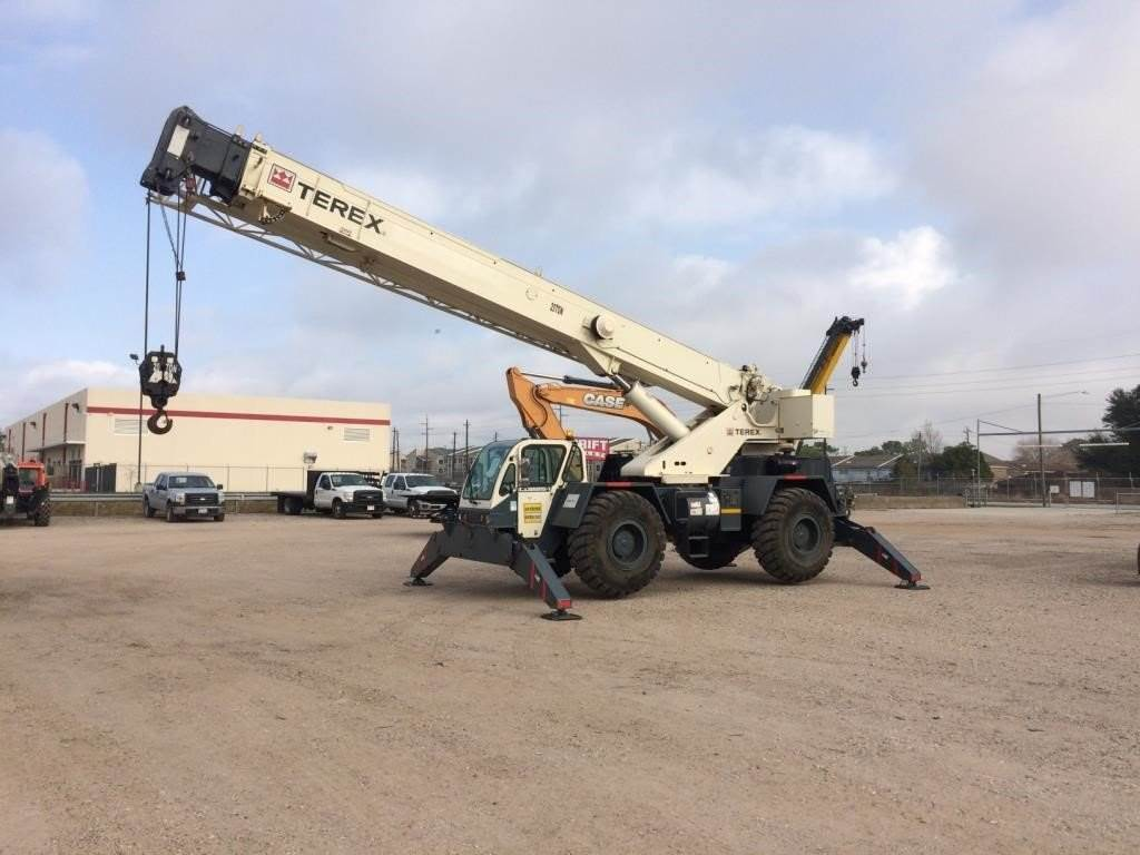 Terex CD225, Rough Terrain Cranes, Construction Equipment