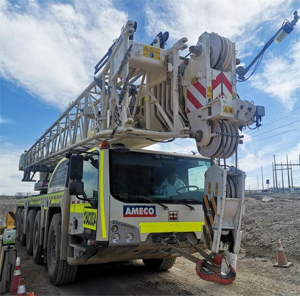Terex EXPLORER 5600, Mobile and all terrain cranes, Construction Equipment