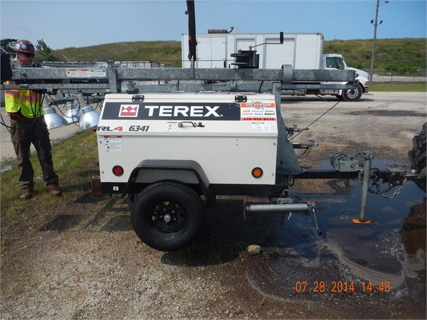Terex RL4, Light Towers, Construction Equipment