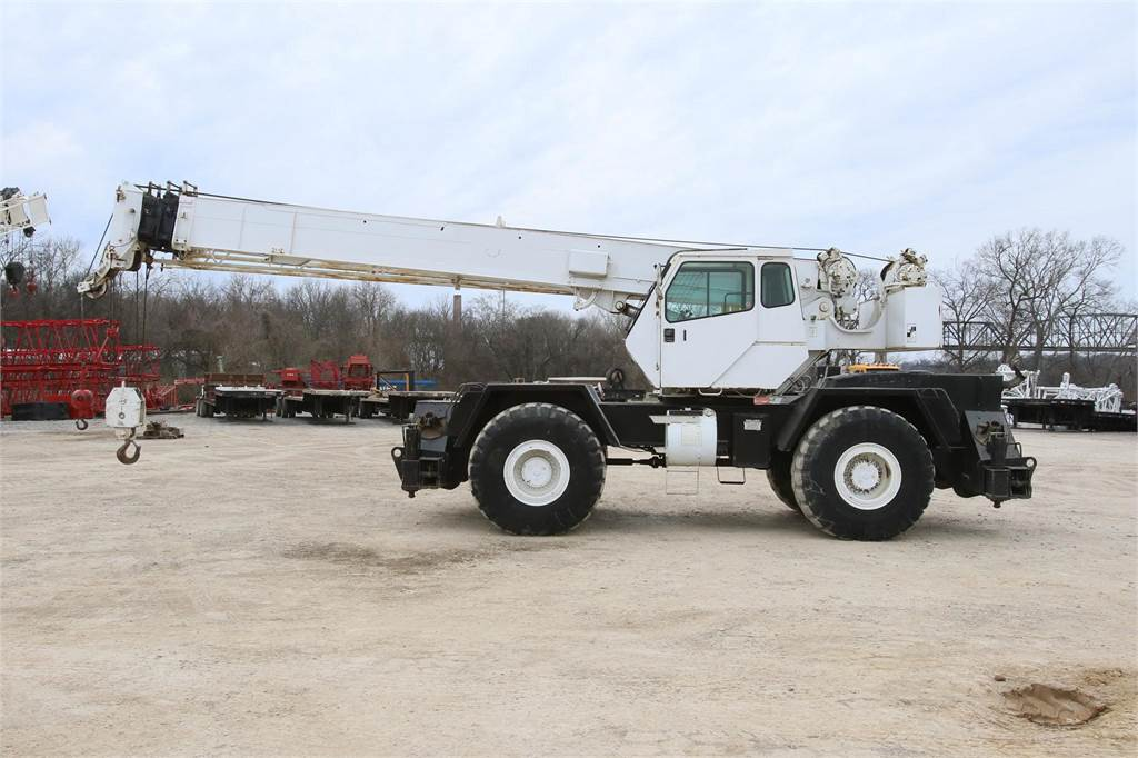 Terex RT335 - Rough Terrain Cranes - Construction Equipment