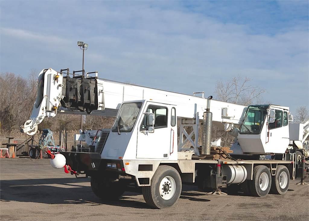 Terex T230, All Terrain Cranes and Hydraulic Truck Cranes, Construction Equipment