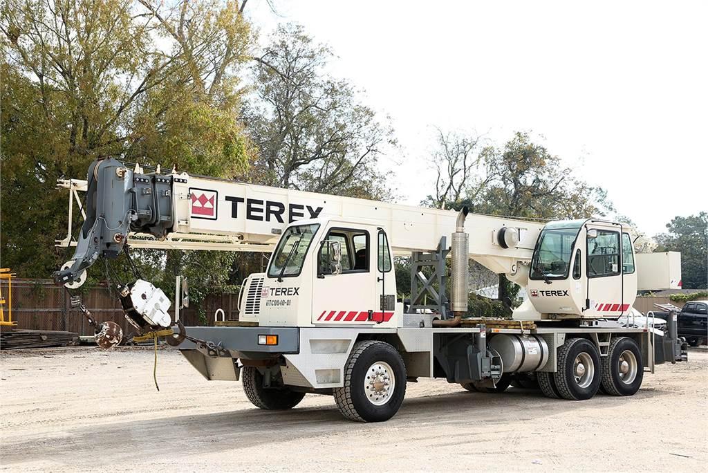 Terex T340-1XL, All Terrain Cranes and Hydraulic Truck Cranes, Construction Equipment