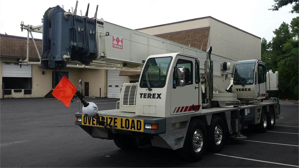 Terex T560, All Terrain Cranes and Hydraulic Truck Cranes, Construction Equipment