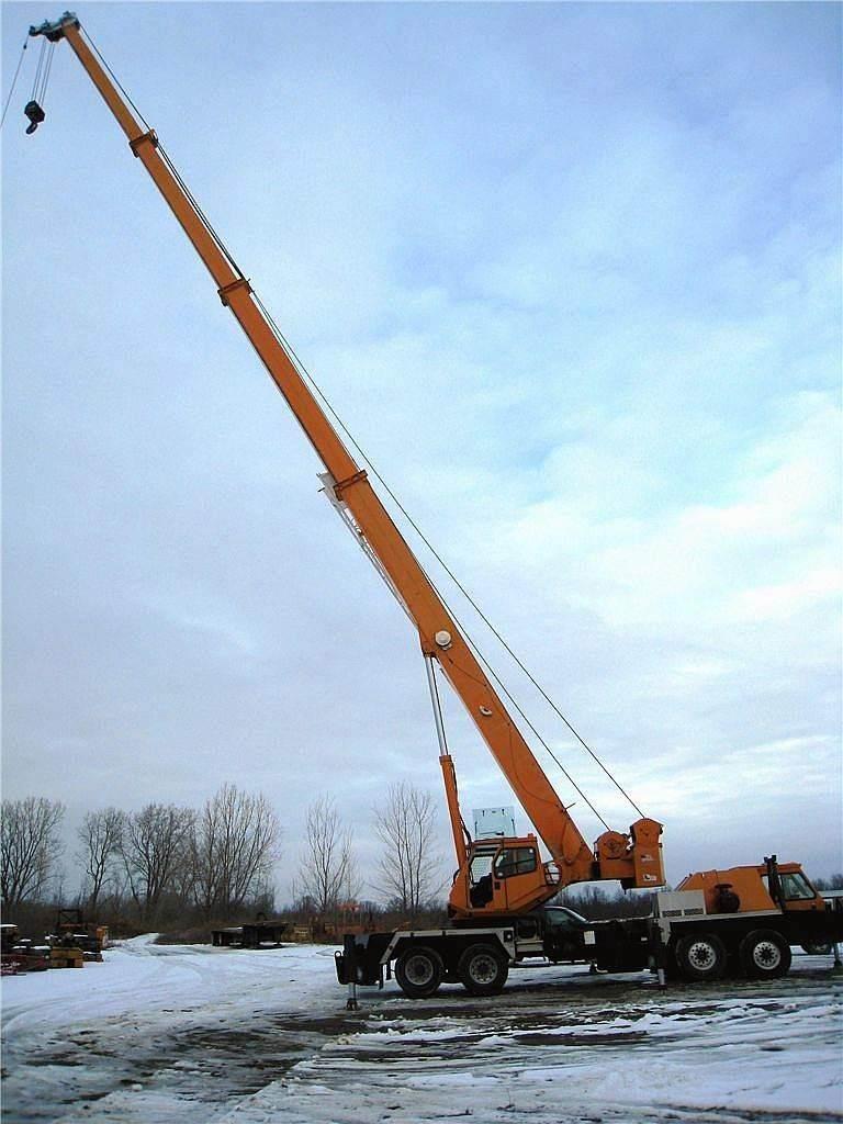 Terex T750, All Terrain Cranes and Hydraulic Truck Cranes, Construction Equipment