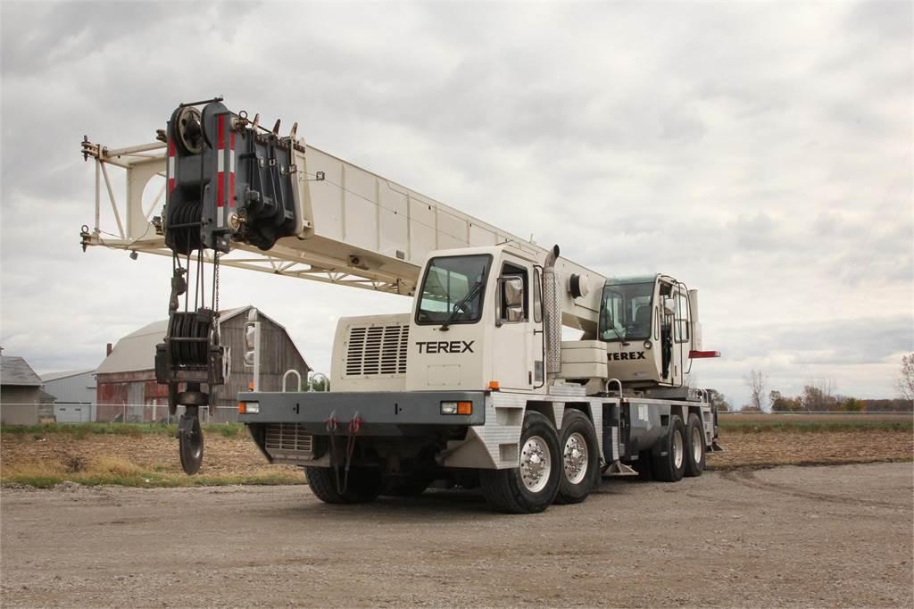 Terex T775, All Terrain Cranes and Hydraulic Truck Cranes, Construction Equipment