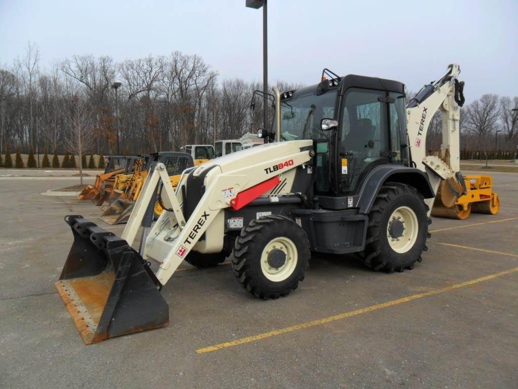 Terex TLB840, Backhoe Loaders, Construction Equipment