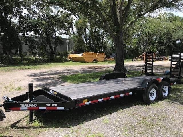Trail King TK12U, Vehicle Transport Trailers, Trucks and Trailers