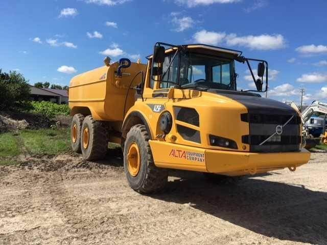 Volvo A25F, Water Tankers, Construction Equipment