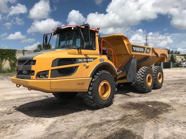 Volvo A25G, Articulated Dump Trucks (ADTs), Construction Equipment