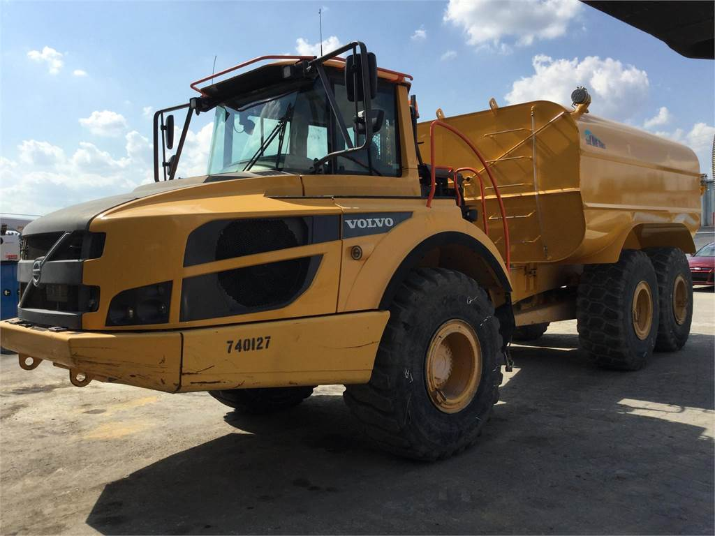 Volvo A25G, Water Trucks, Construction Equipment