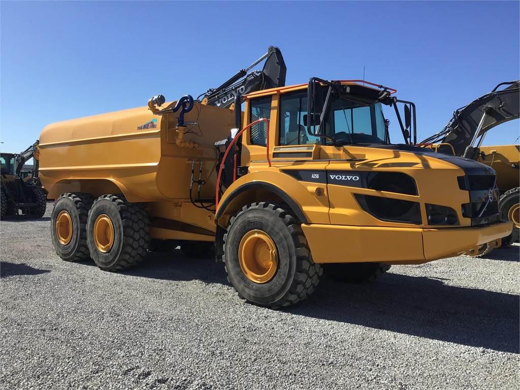 Volvo A25G, Water Trucks, Construction Equipment