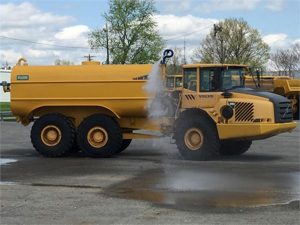 Volvo A30D, Water Tankers, Construction Equipment