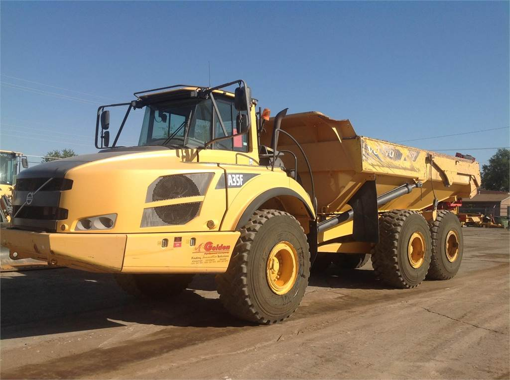 Volvo A35F, Articulated Dump Trucks (ADTs), Construction Equipment