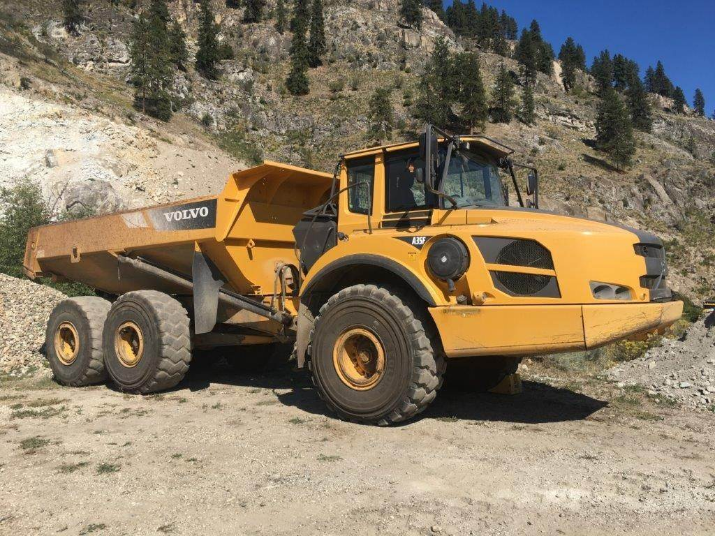 Volvo A35F, Articulated Trucks, Construction Equipment