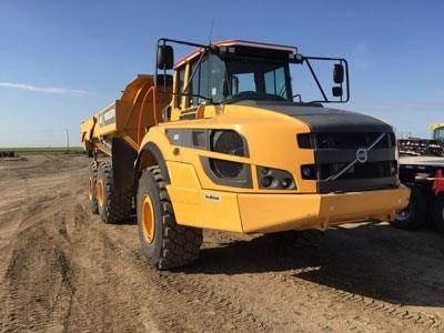 Volvo A35G, Articulated Trucks, Construction Equipment