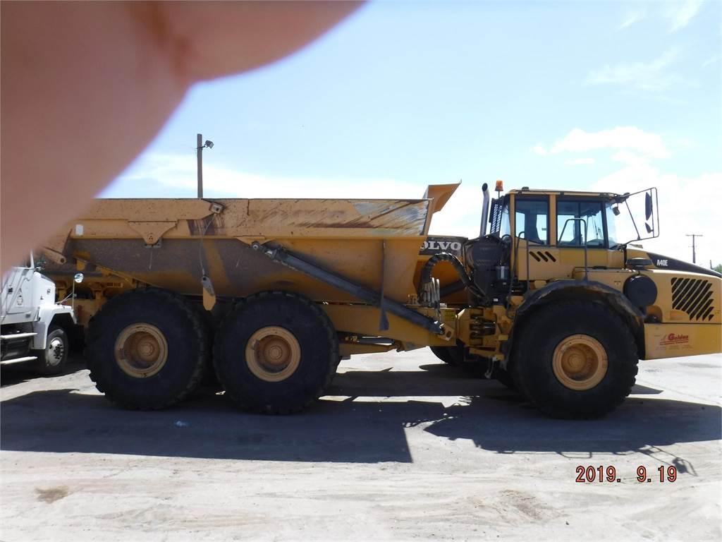 Volvo A40E, Articulated Dump Trucks (ADTs), Construction Equipment
