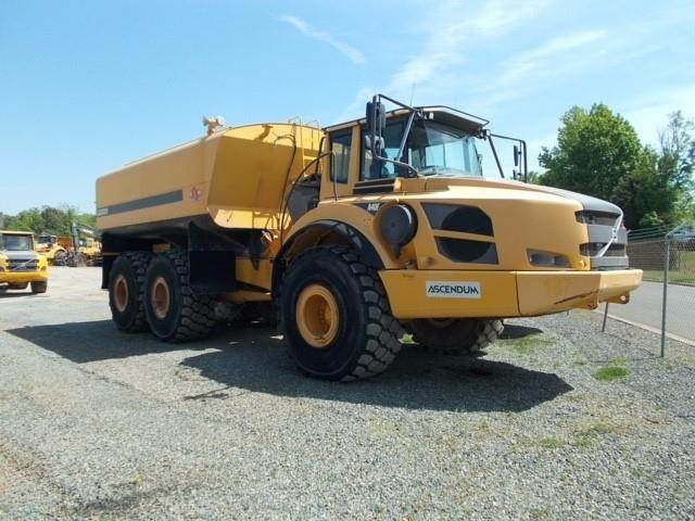 Volvo A40F, Water Tankers, Construction Equipment
