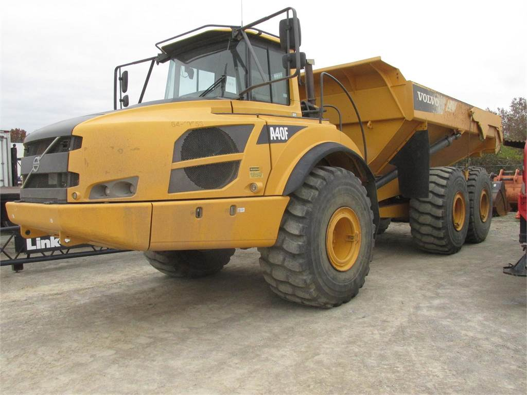 Volvo A40F - Articulated Trucks - Construction Equipment - Volvo CE Americas Used Equipment