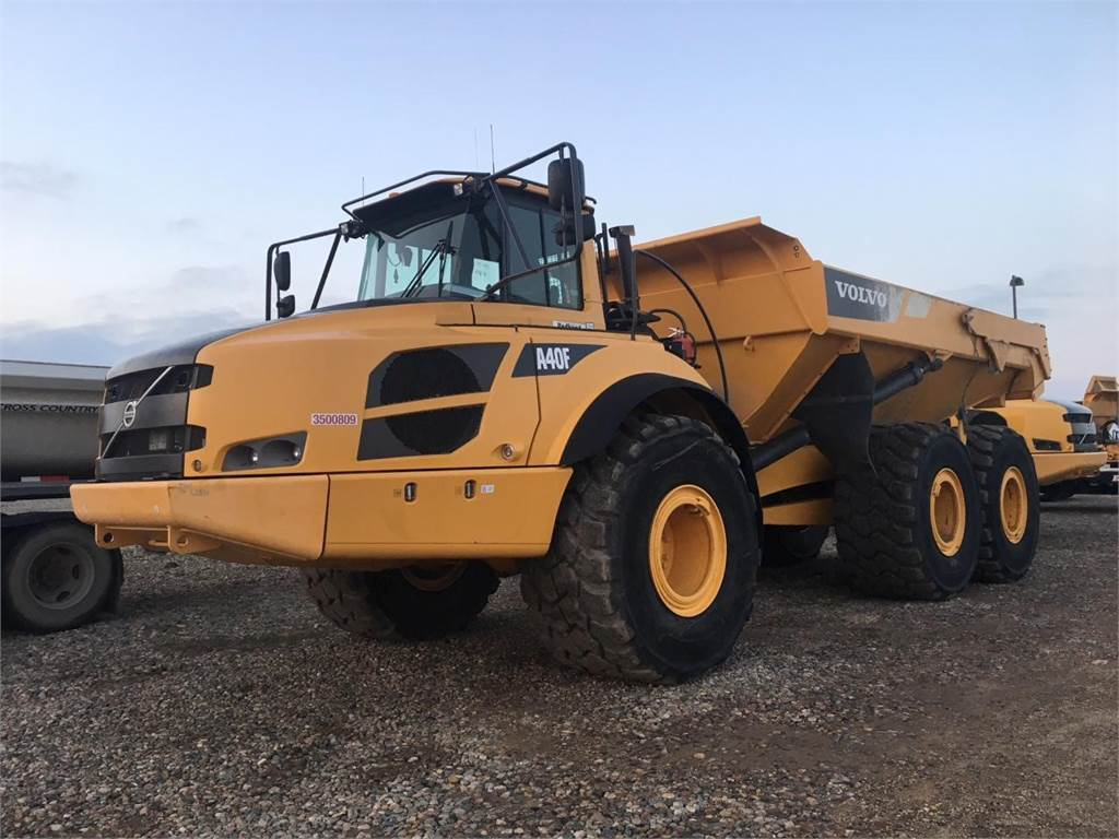 Volvo A40F, Articulated Trucks, Construction Equipment