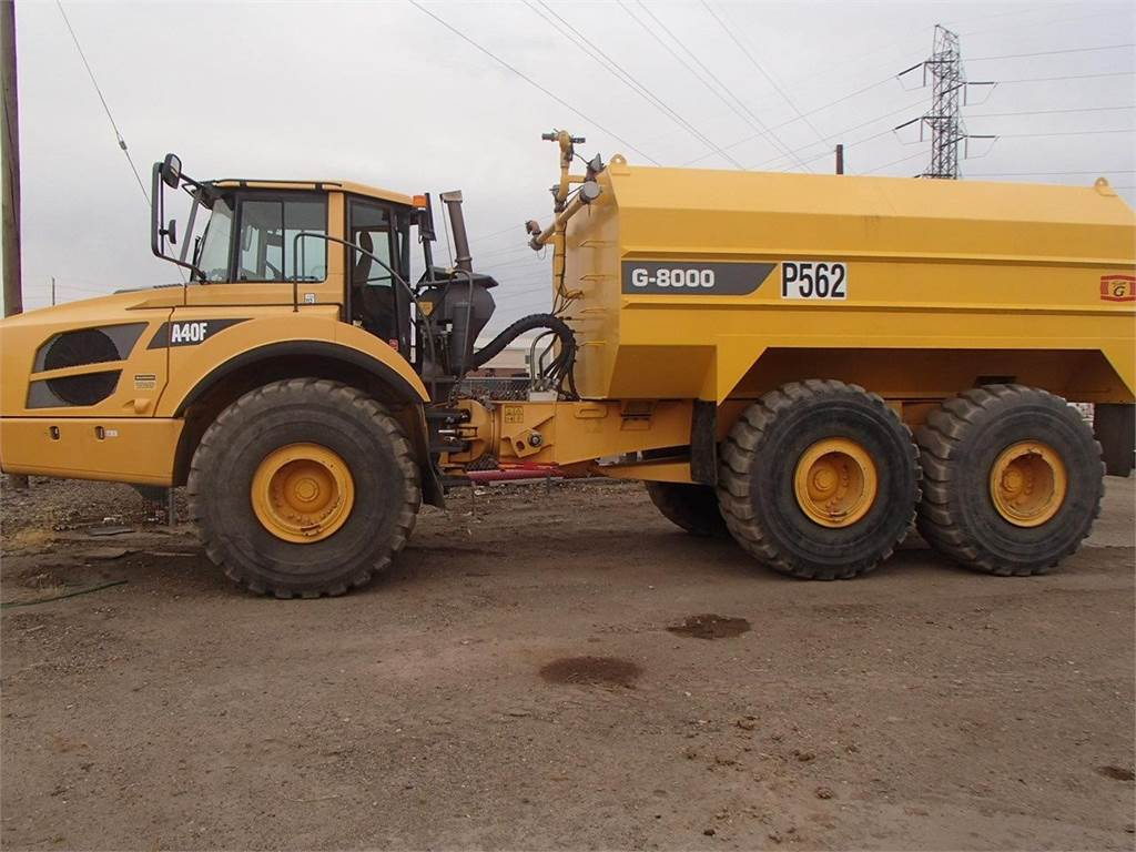 Volvo A40F, Water Trucks, Construction Equipment